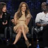 Jennifer Lopez showed her cellulite at American Idol (pics & video)